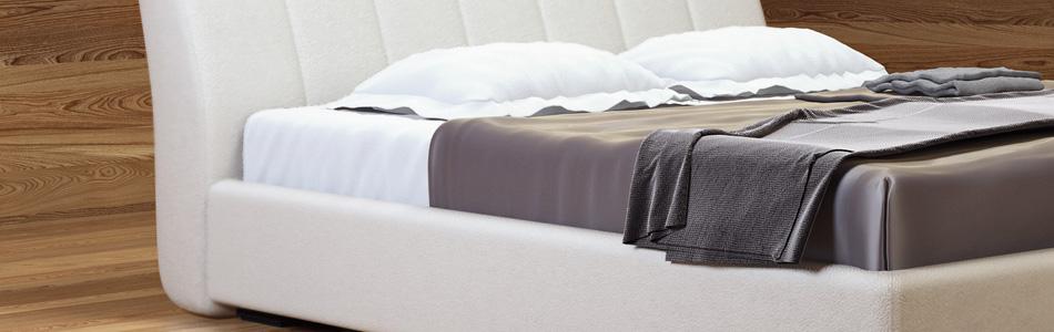 Кровати с мягкой обивкой