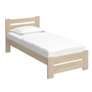 Кровать Calgary (90x200, масло белое)