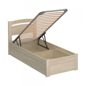 Кровать Edmonton Luxe (90x200, масло белое)