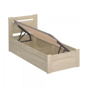Кровать Montreal Luxe (90x200, масло белое)