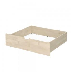 Ящик для белья S (масло белое)