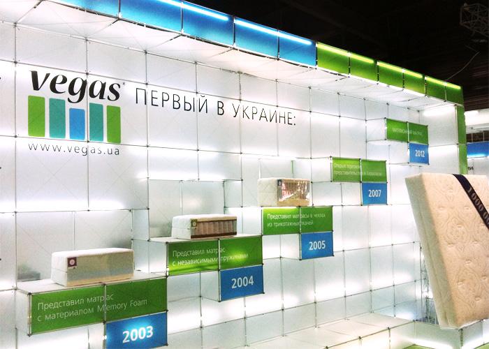 Стенд Vegas на выставке DLT 2012 в Киеве